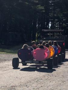 barrel rides at yogi bear's jellystone park™ in madison me