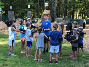 laser tag fun at yonderhill jellystone park™ in maine