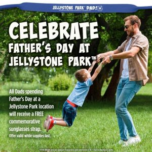 celebrate father's day at yonderhill jellystone park in maine